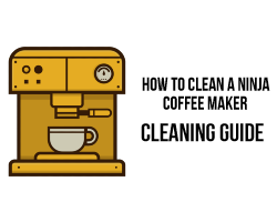 how to clean a ninja coffee maker