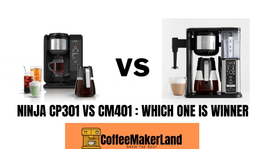Ninja CP301 vs CM401