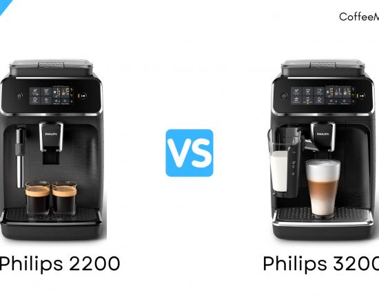 Philips 2200 vs 3200